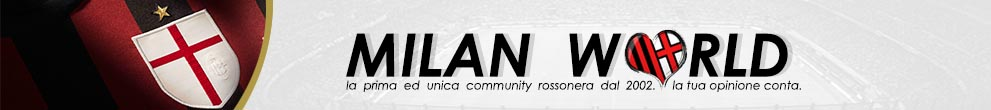 Milan World | AC Milan Forum - Powered by vBulletin